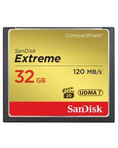 SANDISK CF Extreme 32GB 120/85MB/s UDMA7
