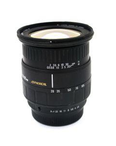 Brugt Sigma Zoom 28-105mm 2,8-4 til Pentax