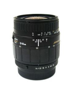 Brugt Sigma Zoom 28-80mm 3,5-5,6 Macro til Pentax