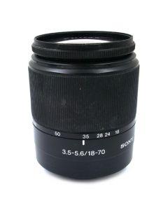 Brugt Sony Alpha 18-70mm 3,5-5,6 DT